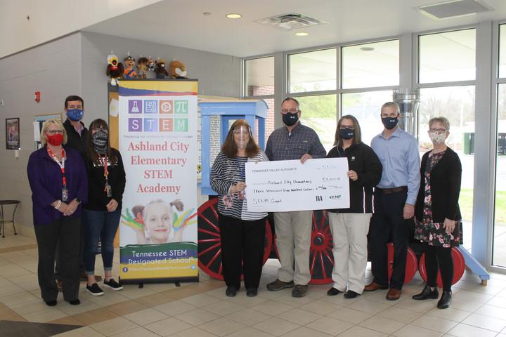 TVA Partnership Awards Ashland City Elementary STEM Academy STEM Grant