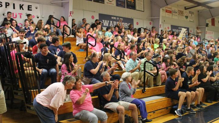 Warriors Wear Pink for Voorhies