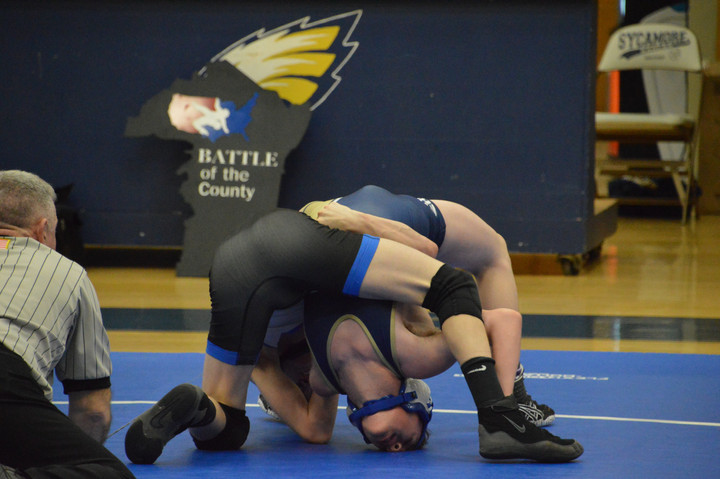 Harpeth Holds the Power in Cross-County Wrestling Tournament