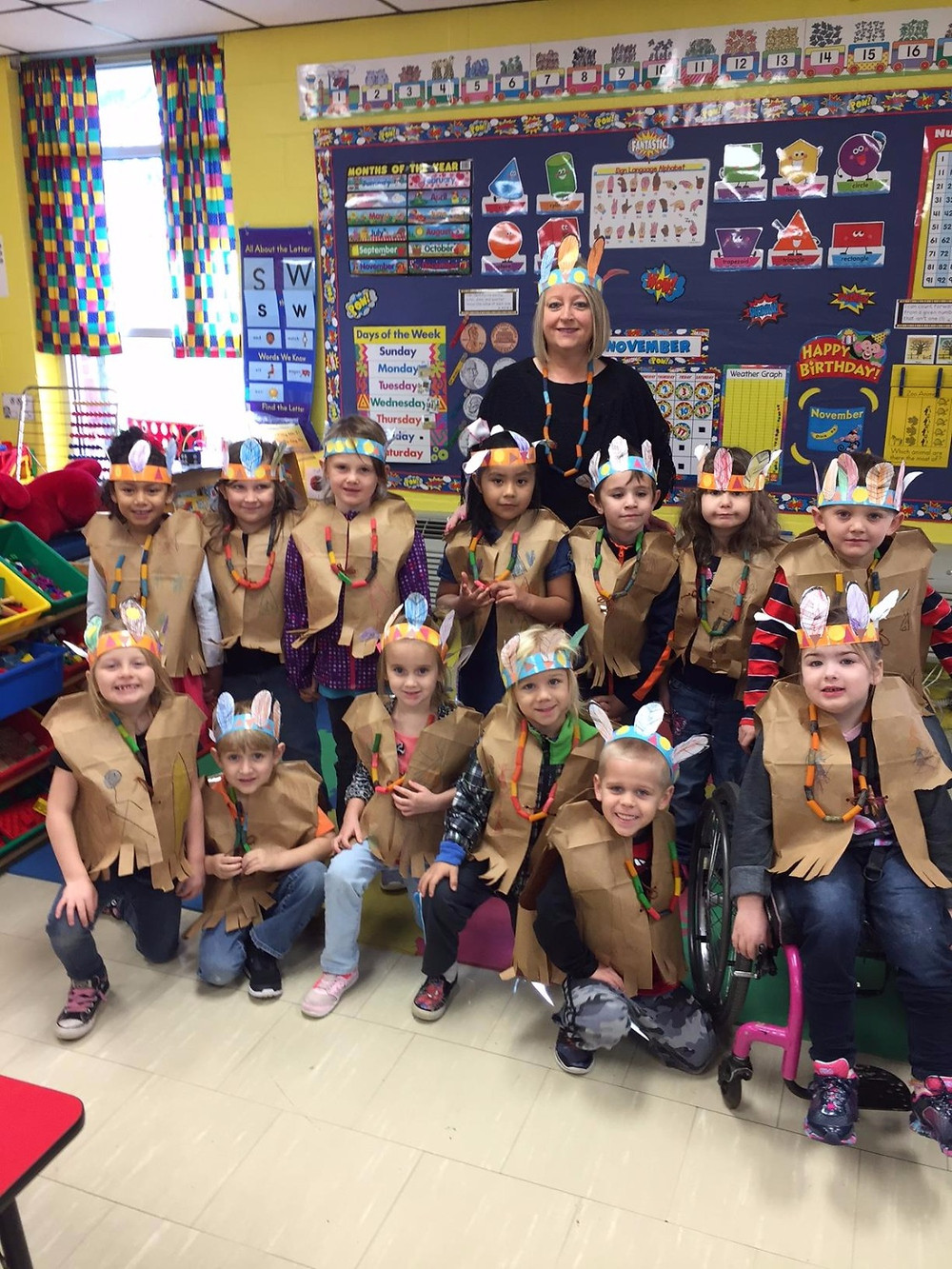 Mrs. Morris's Kindergarteners