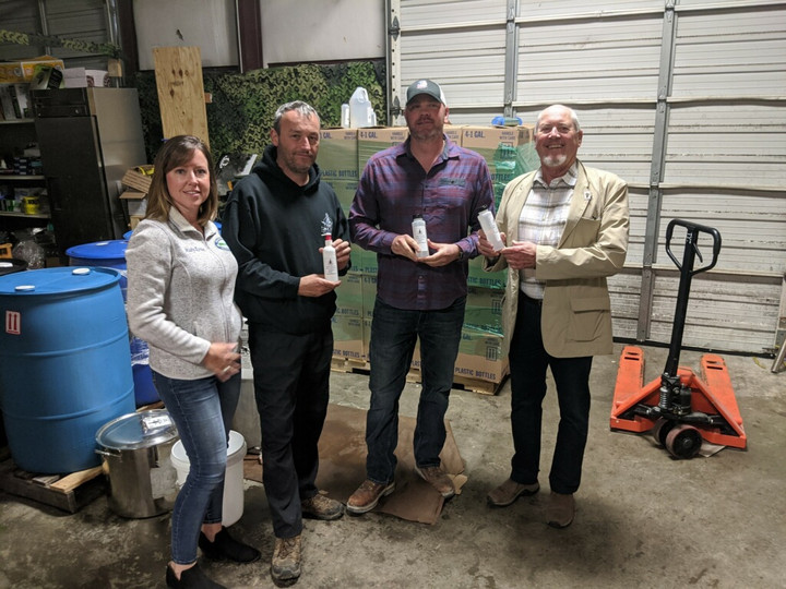 Ashland City Business Supports Local Frontline with Sanitizer Donation