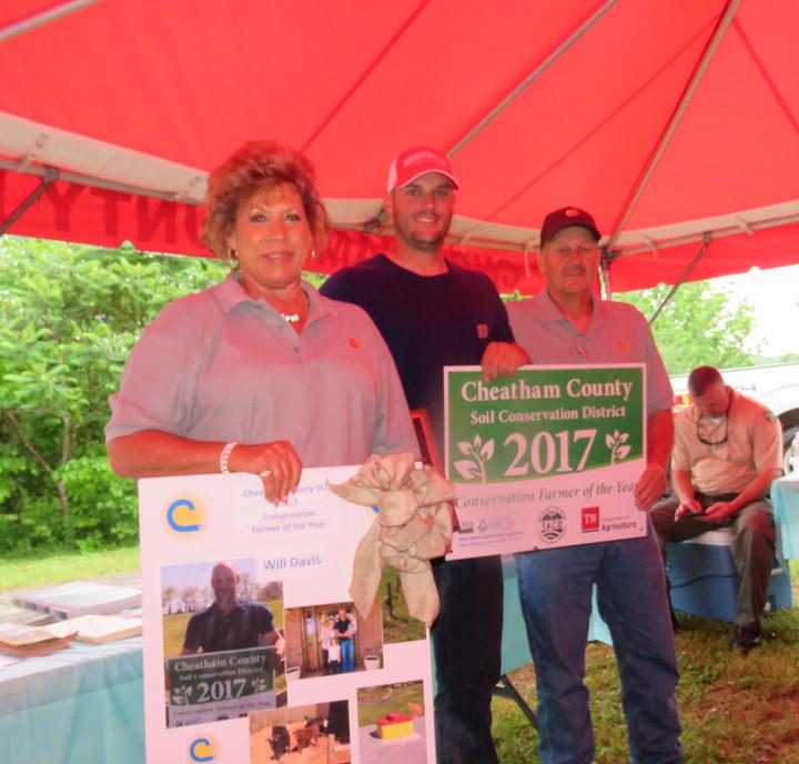 Ashland City's Davis Named 'Farmer of the Year'