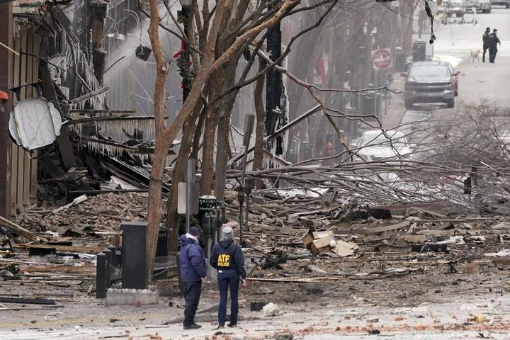 TBI Director Addresses Media in Monday Morning Press Conference Regarding Nashville Bombing