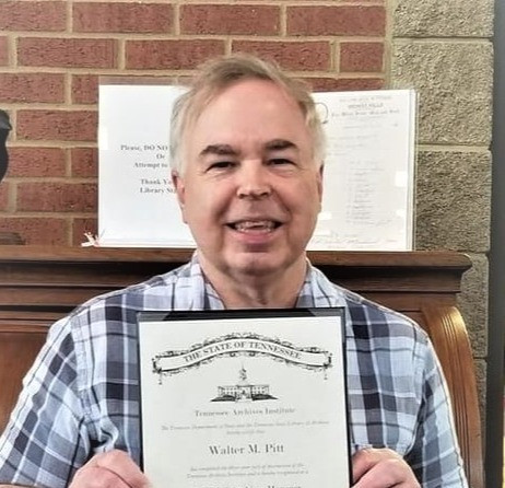 Cheatham County's Archivist Completes TSLAI Certification