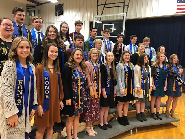 Pleasant View Christian School Announces Honor Society Inductees