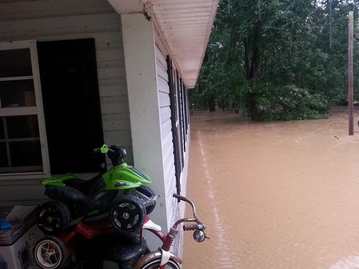 Images of the Flooding Across Cheatham County
