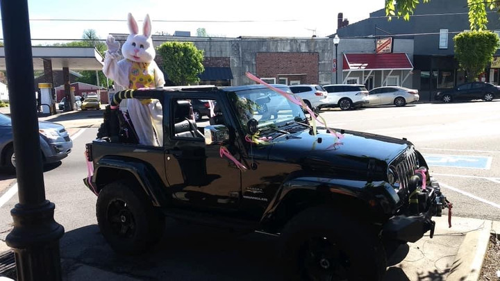 Easter Bunny Surprises Children, Grownups in Cheatham