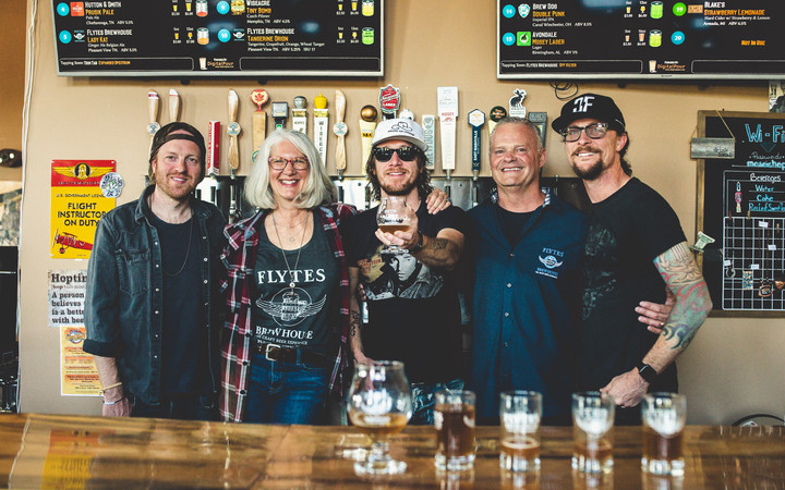 Pleasant View Brewhouse Collaborates with The Cadillac Three