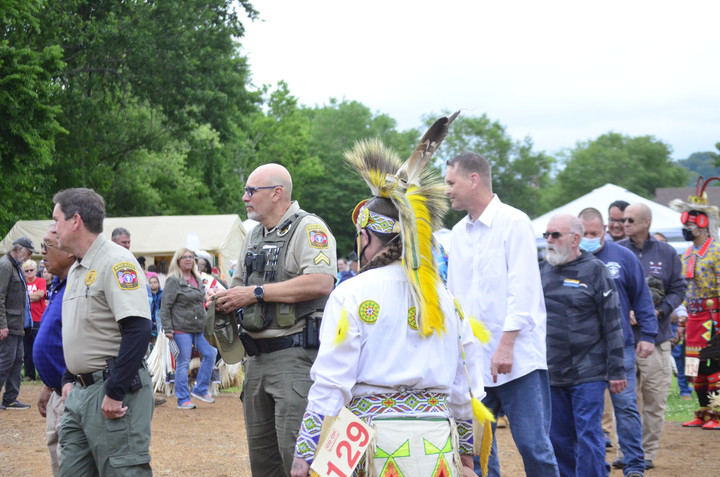 Local Pow Wow Honors Vets, Public Servants, and Life Lost to COVID-19