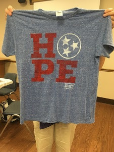 HOPE shirts available for purchase