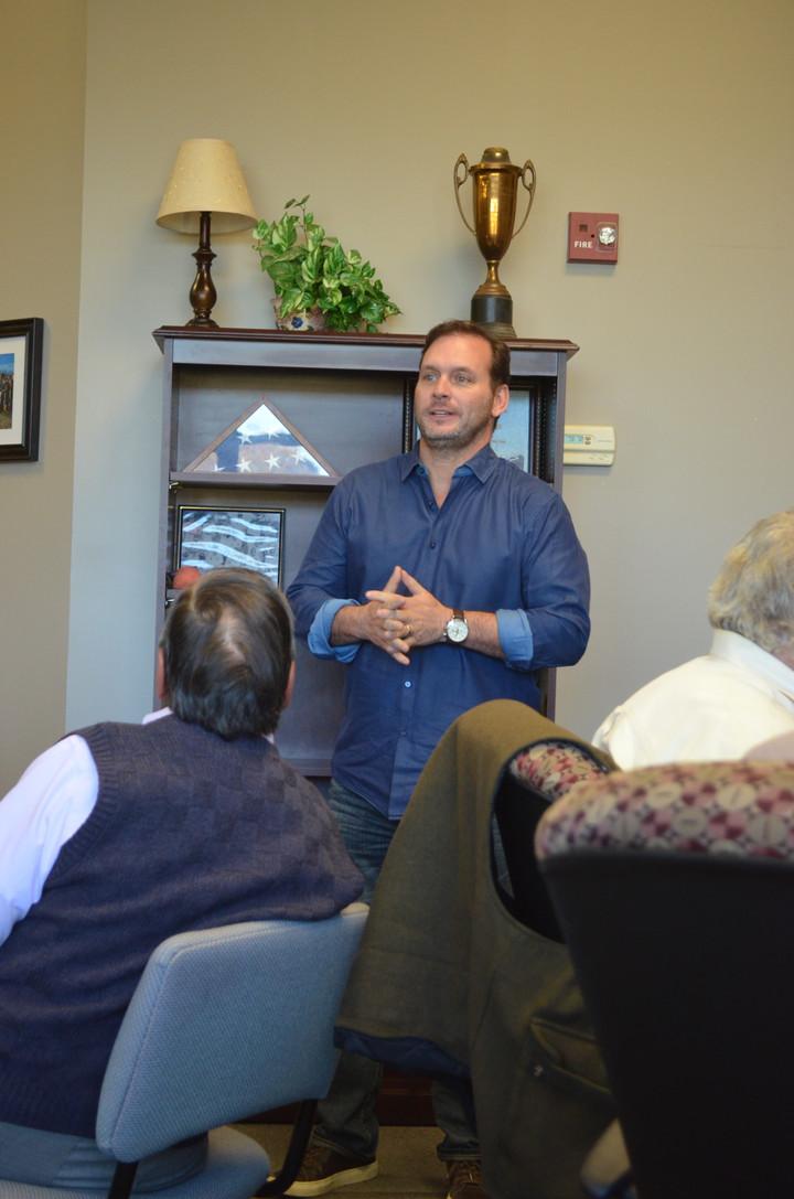 Mark Stoner Headlines Chamber's Final Meeting of 2017