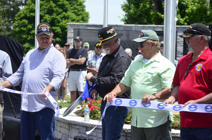 Images: Cheatham County Veterans Memorial Park Dedication Ceremony