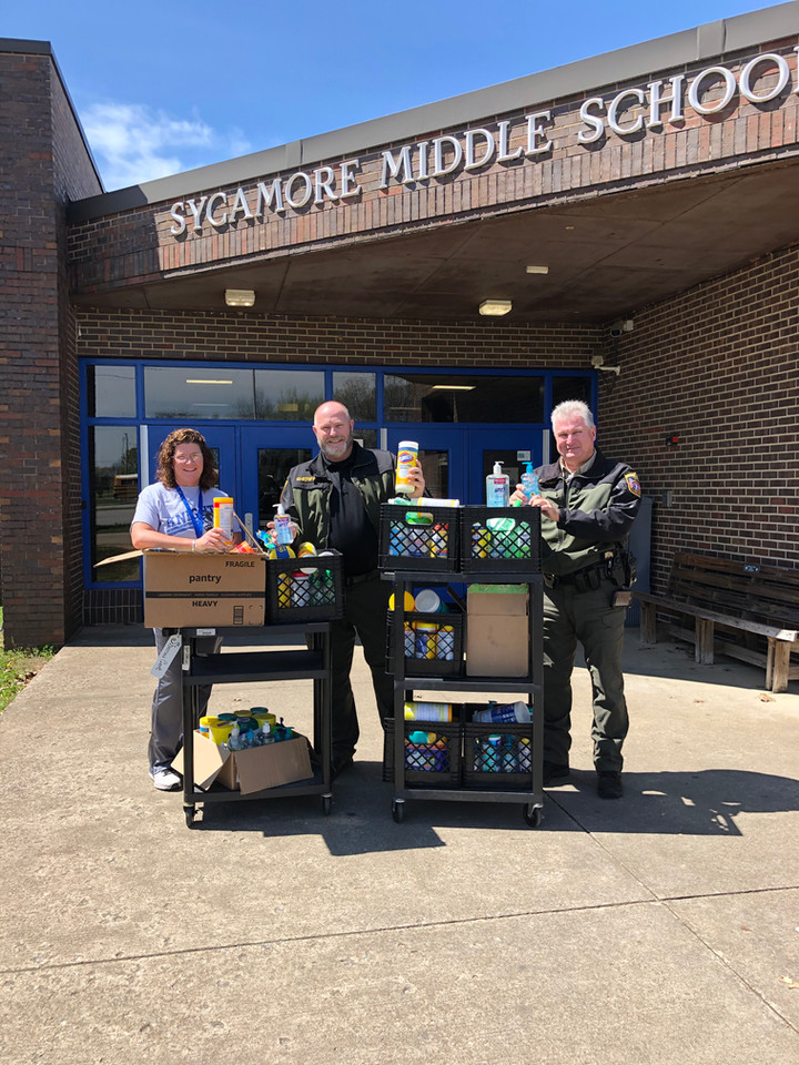 Excess School Supplies Aid Local First Responders During Pandemic