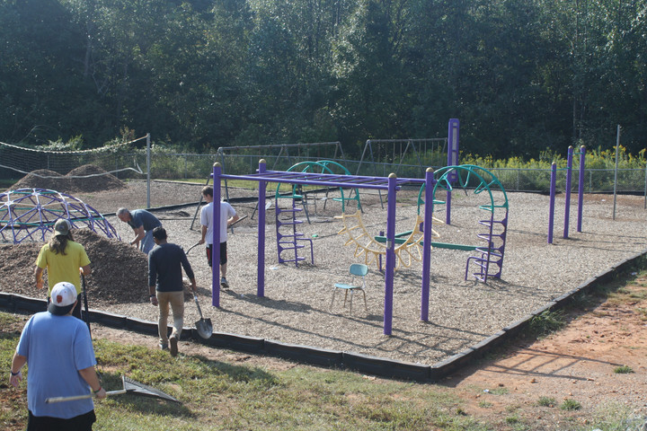 Cheatham Middle School Playground Gets a Facelift