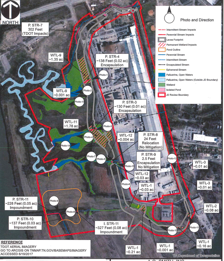 Public Comments Sought On A.O. Smith Levee Plans