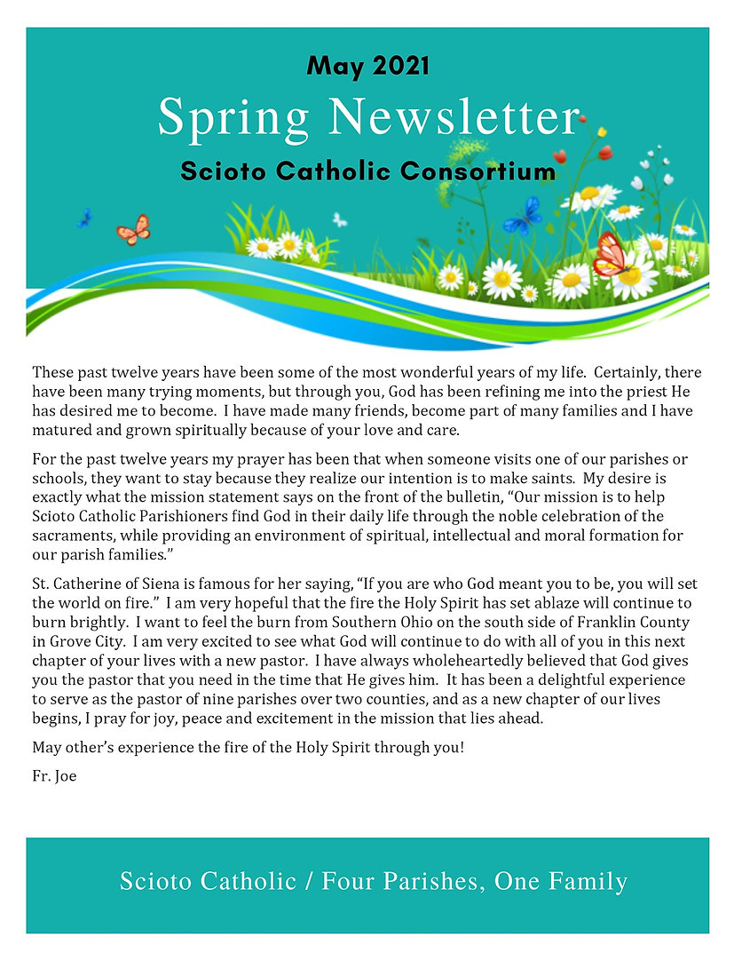 May Spring 2021 Newsletter Front Page.jp