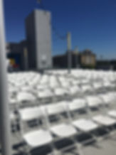 folding chairs for events parties event