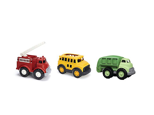 Green Toys Vehicles Set of 3