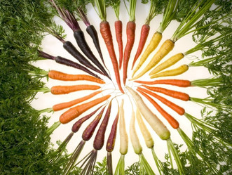 Are carrots good for your eyes?