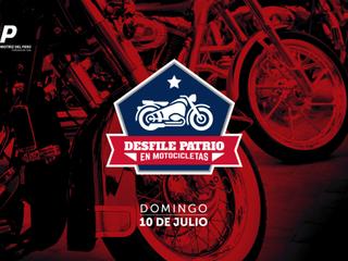 Desfile Patrio en Motocicletas !