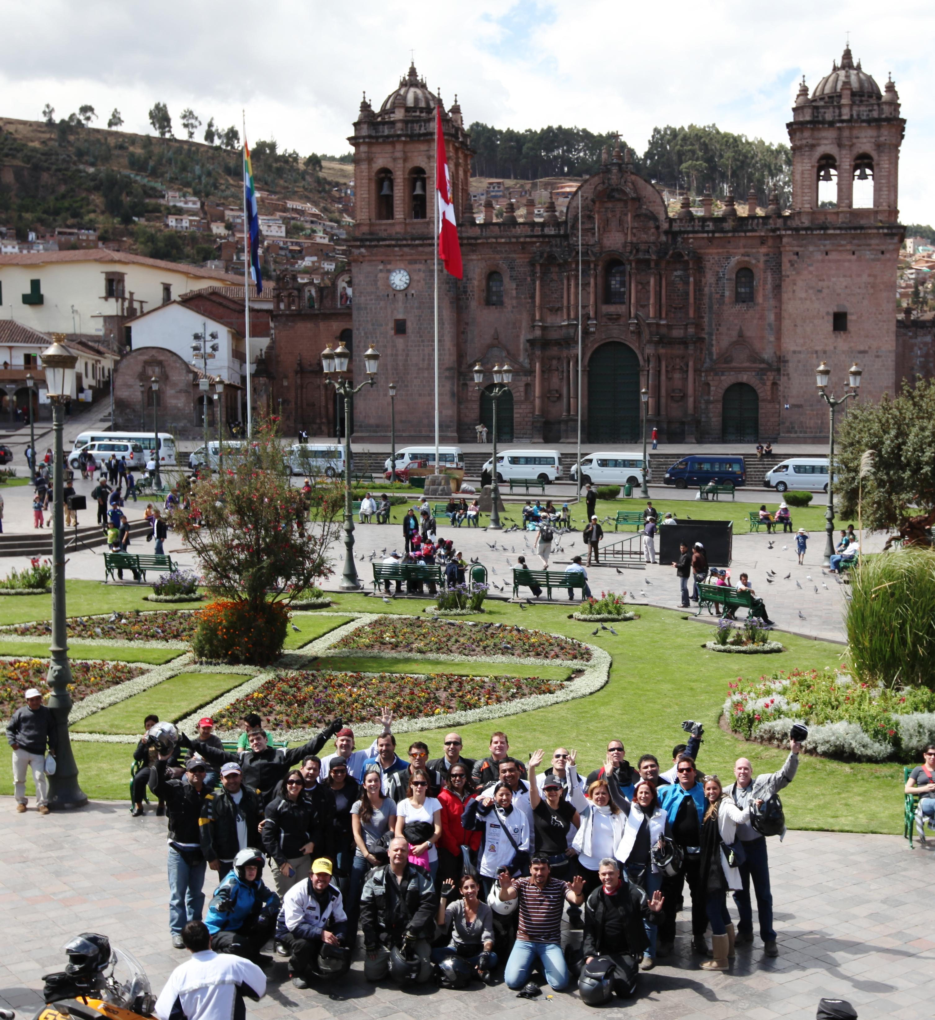 foto plaza cusco