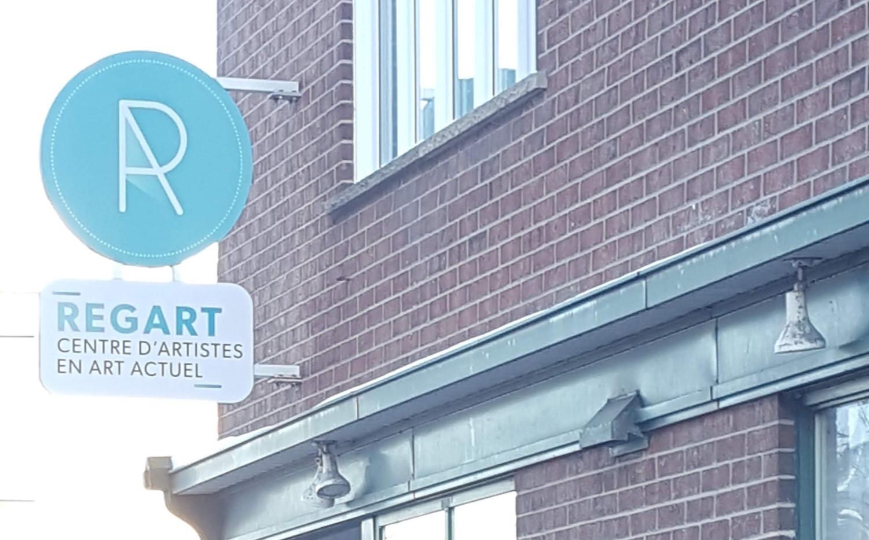 Centre d'artistes Regart, Lévis, Québec. (photo I.Falardeau)
