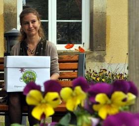 Charline Chaynes - A l'initiative de jardins partagés