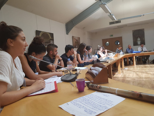 Les jeunes du Tarn et Garonne au Sénat