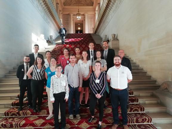 Le groupe des ariégeois au Sénat