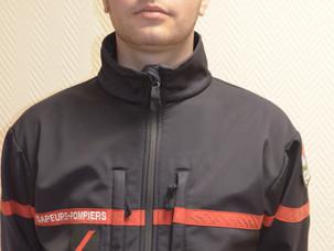 Maxime Burlureoux - Volontaire sapeur-pompier