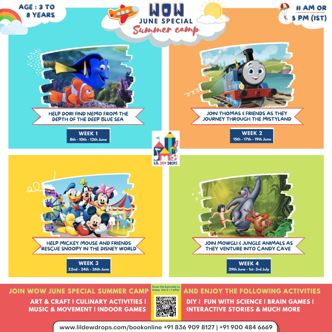 WOW MULTIACTIVITY CAMP (Monthly|2 Camps)