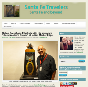 Greyshoes Featured on Santa Fe Travelers