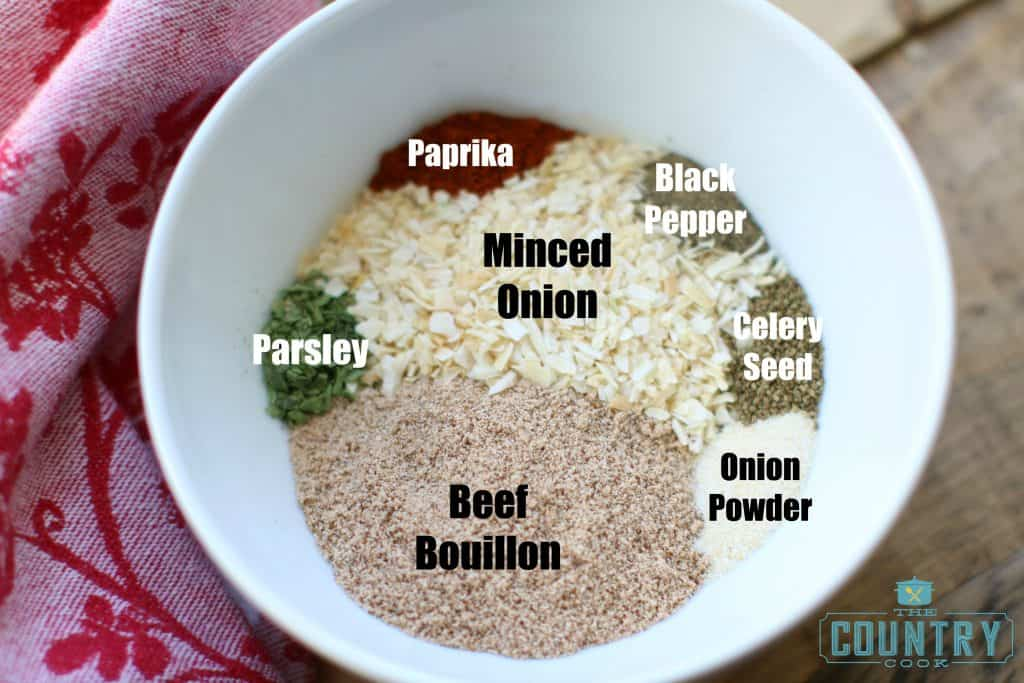 Dry Onion Powder Mix