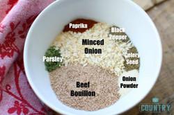 Dry Onion Powder Mix