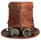 sombrero hombre steampunk