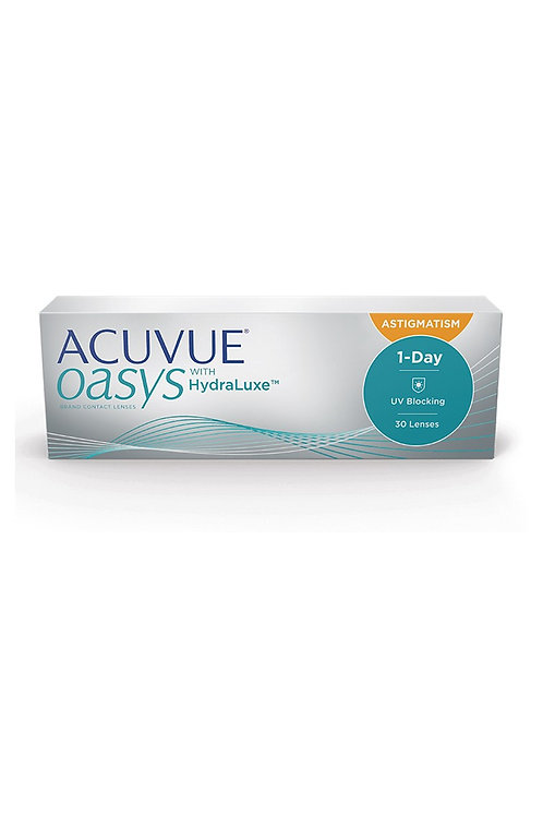 Acuvue Oasys with HydraLuxe and Astigmatism (Daily)