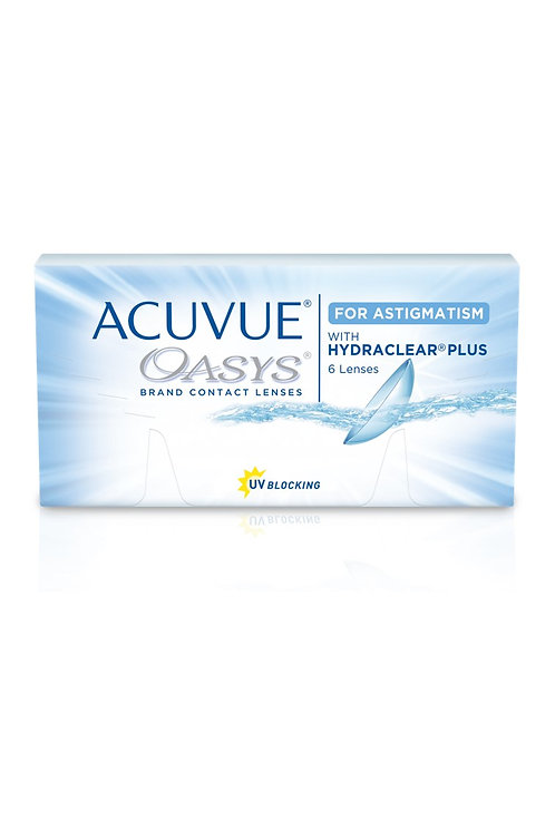 Acuvue Oasys with HydraClear Plus and Astigmatism (Bi-weekly)