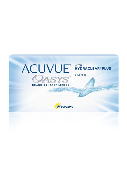 Acuvue Oasys with HydraClear Plus (Bi-weekly)