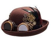 sombrero mujer steampunk