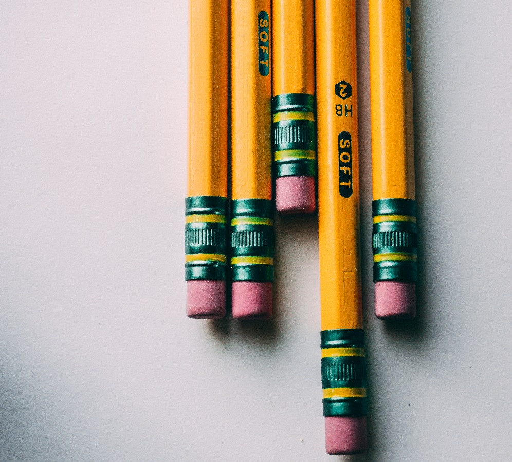erasing mistakes in your manuscript
