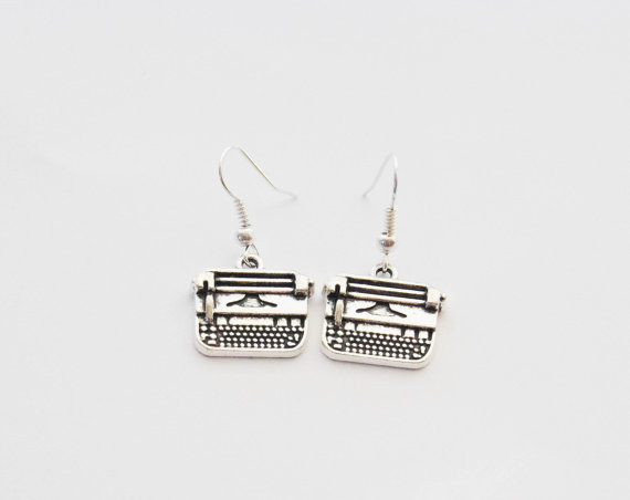 Typewriter Jewelry for the writer in your life