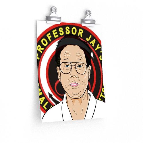 Professor Wally Jay posters