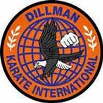 Official Dillman Karate International Patch