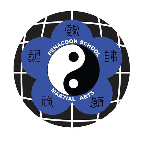 Official Penacook School Martial Arts Patch