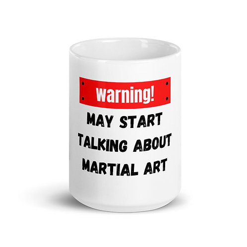 Talk About Martial Arts Mug