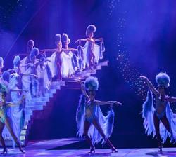 On stage in Jubilee! Las Vegas