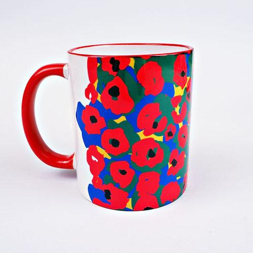Painter Flower Mug