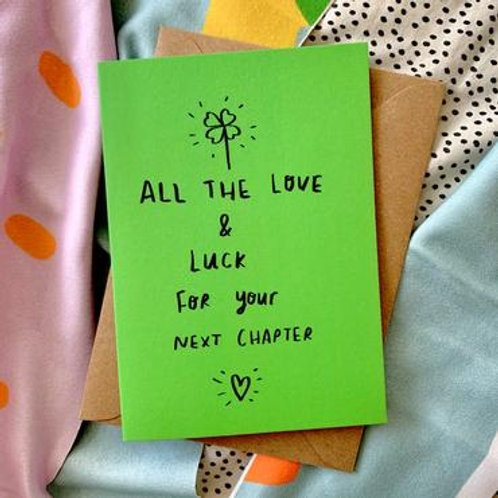 All the Love & Luck Card