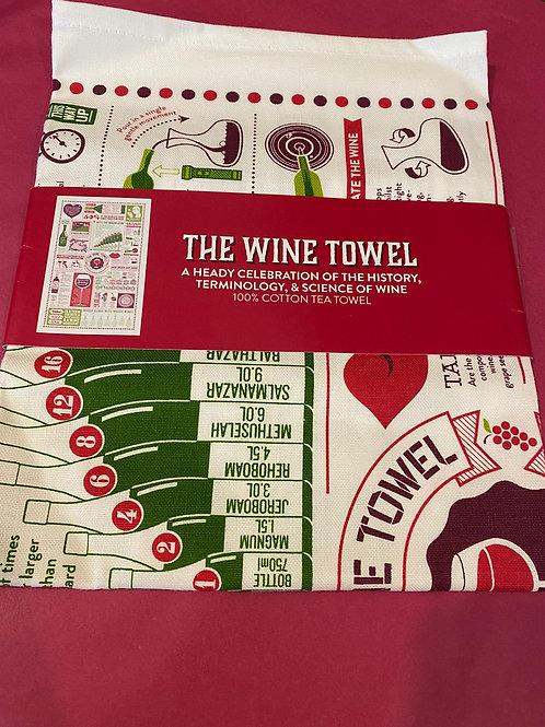 The Wine Tea Towel