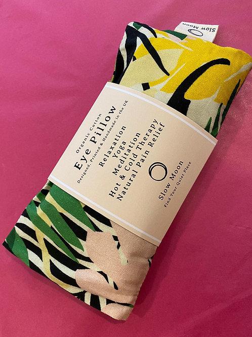 Organic Cotton Eye Pillow -Tropics